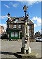 SK3547 : Fountain in The Marketplace, Belper by Neil Theasby