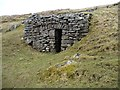 SD7794 : Ruined lime kiln, below Grisedale Brow by Christine Johnstone
