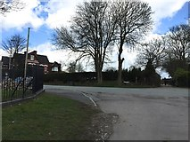 SJ8545 : Newcastle-under-Lyme: junction of Palmers Way and Lancaster Road by Jonathan Hutchins