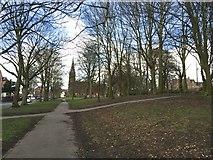 SJ8545 : Newcastle-under-Lyme: Stubbs Walks by Jonathan Hutchins