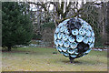 NJ6241 : Globe Sculpture by Anne Burgess