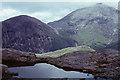 NG4922 : Lochan on Druim Hain by Ian Taylor