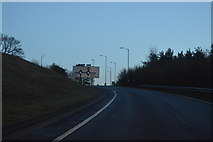 TG1607 : Slip road off the A47 by N Chadwick
