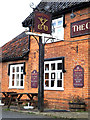 TM0477 : The Cross Keys Public House sign by Geographer