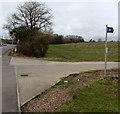 ST1279 : Bridleway sign near Radyr, Cardiff by Jaggery