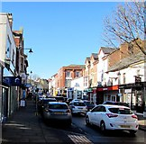 SO6024 : Sunday traffic in Gloucester Road, Ross-on-Wye by Jaggery