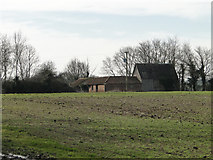 TM2768 : Farm buildings off King's Lane by Adrian S Pye