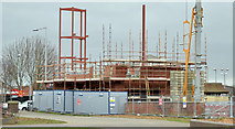J3674 : Connswater Visitor Centre, Belfast (March 2015) by Albert Bridge