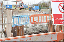 J3674 : Connswater works, Mersey Street bridge (March 2015) by Albert Bridge