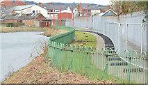 J3674 : Connswater path, Belfast - March 2015(2) by Albert Bridge