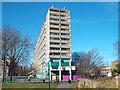 TQ3277 : Aylesbury Estate, from Burgess Park by Malc McDonald