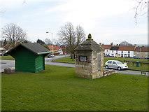 NZ2422 : Heighington village green by Oliver Dixon