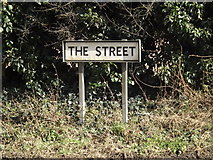 TM0478 : The Street sign by Adrian Cable