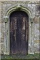 NY4349 : Mortuary chapel door by Ian Taylor
