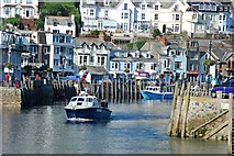 SX2553 : Looe Harbour Entrance by Mr Eugene Birchall