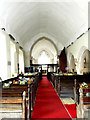 TM0276 : Inside St.Mary's Church by Adrian Cable