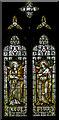 TQ5920 : St Cecilia & Miriam window, All Saints' church, Old Heathfield by Julian P Guffogg