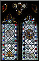 TQ6018 : 15th C. glass, St Mary's church, Warbleton by Julian P Guffogg