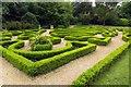SZ2093 : The knot garden at Highcliffe Castle by Steve Daniels