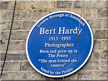 TQ3179 : Blue Plaque, Webber Street, London SE1 by Christine Matthews