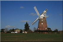 TL6030 : Thaxted Mill by Paul Franks