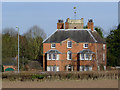 SO8891 : Old rectory near Himley, Staffordshire by Roger  Kidd