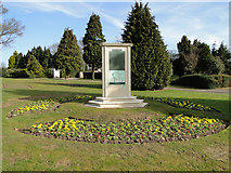 TM1542 : WW1 and 2  Memorial in Bourne Park by Adrian S Pye