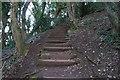 SX9365 : Southwest Coast Path towards Walls Hill by Ian S