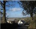SX4072 : Cottage, Latchleyplain by Derek Harper