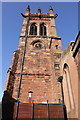 SJ4065 : The tower of St Mary's Centre by Jeff Buck