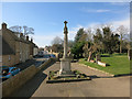 TL4478 : Sutton War Memorial by Hugh Venables