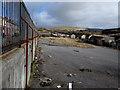 SS8694 : Site of the former Blaencaerau Junior School, Caerau by Jaggery