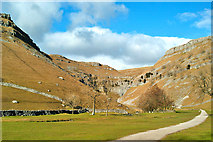 SD9163 : Path to Gordale Scar by Brian Frost