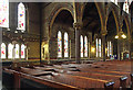 TQ3385 : St Mark, Dalston - South arcade by John Salmon
