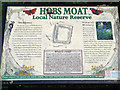 SP1482 : Hobs Moat, Olton, information board by Robin Stott