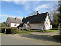 TM1369 : Thatched cottage in Thorndon by Adrian S Pye