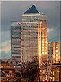 TQ3680 : Canary Wharf, London by Christine Matthews