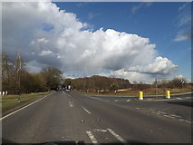 TM1478 : A140 at Warren Hills, Scole by Geographer