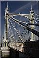 TQ2777 : Albert Bridge by Peter Trimming
