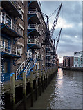 TQ3379 : Concordia Wharf and the River Neckinger, London SE16 by Christine Matthews