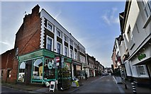 TQ4210 : Lewes: Cliffe High Street. by Michael Garlick