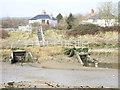 TL8707 : Spicketts Brook Sluice by Robin Lucas