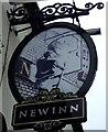 SJ9499 : Sign for the New Inn, Ashton-under-Lyne  by JThomas