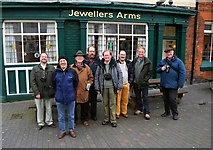 SP0687 : 10th Anniversary Meetup of Geographers at the Jewellers Arms, Birmingham by A. Nonie