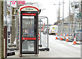 J3474 : Telephone box, Queen's Square, Belfast (March 2015) by Albert Bridge