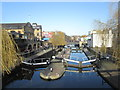 TQ2884 : Locks at Camden by John Slater
