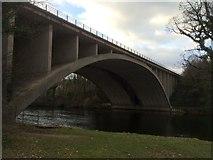 SD4964 : M6 bridge over the River Lune by John H Darch