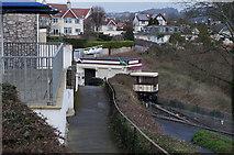 SX9265 : The Cliff Railway down to Oddicombe Beach by Ian S