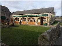 NZ1248 : Knitsley Farm Shop by Anthony Foster