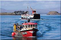 NM8529 : Natalie Rose II in Oban Bay by The Carlisle Kid